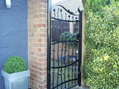 Ref: BP006 Bespoke Gate Designed Specifically to the Customer's Requirements