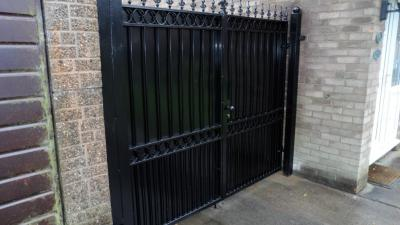 Ref:GTO58 Metal privacy Gates Heywood,Manchester