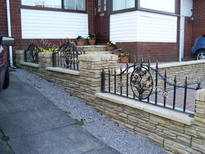 Ref: RA011 Wrought Iron Railing Designs Greater Manchester