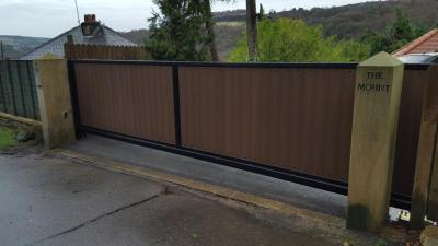 Ref:GTO83 Automatic sliding gate Rippendon