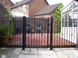 Ref: GT023 Custom made Metal Gates and Railings Norden, Rochdale Greater Manchester