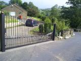 Ref:  GT036 Bespoke gates to suit awkward driveway, Mossley, Manchester