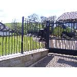 Ref: RA005 Wrought Iron Railings to Match Existing Gates, Fences - Rishworth, Saddleworth
