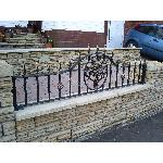 Ref: RA010 Wrought Iron Railing Designs Greater Manchester